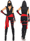 Adult Womens Japanese Deadly Ninja Assassin Cosplay Costume Halloween Outfit