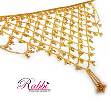 Gold Plated V Shape Net Challa ( CHALGPVNET)