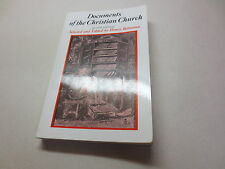 Documents of the Christian Church 2nd ed. selected edited by Henry Bettenson
