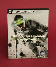 BOOKLET ONLY FOR SPLINTER CELL BLACKLIST PS3 (NO GAME) ⭐OZ SELLER⭐ FAST POST !!!