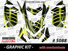 SKI-DOO XP MXZ SNOWMOBILE SLED WRAP GRAPHICS STICKER DECAL KIT 2008-2013 5088