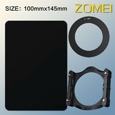 ZOMEI 100mm ND16 Neutral Density Filter+77mm adapter ring+holder For Cokin Z-Pro