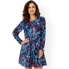 Monsoon Gilly Print Dress Size 20 BNWT