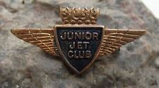 British Airways Airlines Junior Jet Club JJC Winged Shield Pin Badge Clasp