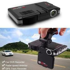 LED Display Radar Laser Car Video Camera Recorder G-Sensor Speed Detector Tools