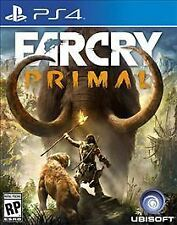 Far Cry: Primal (Sony PlayStation 4, 2016) Free Pair of Universal EarPods