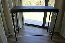 BRAND NEW! Metal and Timber Rustic Industrial Console Hall Table Sideboard
