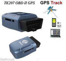 Traceur GPS GSM OBD Position Etat moteur consommation vitesse Voiture camion TK2