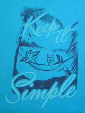 Life is Good *Keep It Simple Hammock* size 2XL Womens L/S Crusher Tee Dog - NWT!