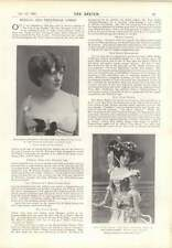 1901 Madge Girdlestone Fanny Dango Sir Walter Parrat Jane May