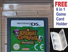 Animal crossing wild world DS-Nintendo DS, DSi, 3DS jeu officiel panier * animl