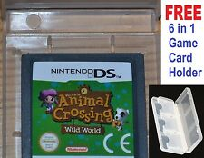 ANIMAL CROSSING WILD WORLD DS- Nintendo DS, DSi, 3DS animal