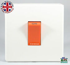 Crabtree Cooker or Shower 45amp DP Switch 7015/WH Platinum (Screw Less Range)
