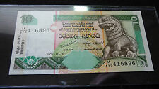 CENTRAL BANK OF SRI LANKA 10 RUPEES NOTE  (SEE PICTURE)  J-24-15
