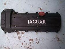 JAGUAR XJR ENGINE MOTOR CYLINDER HEAD COVER w/Camshaft Sensor and Oil Cap