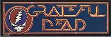 """Grateful Dead 1984 Vintage Sticker Decal 12 1/2"""" x 4  5/16"""""""