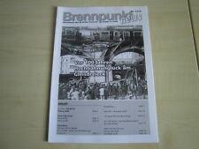BERLINER FEUERWEHR BF BERLIN Brennpunkt News Ausgabe 2-3 aus 2008 (Nummer 13/14)