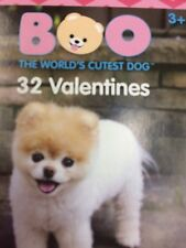 2017 Boo Cutiest Dog Box Of 32 Classroom Valentines Day Cards NEW