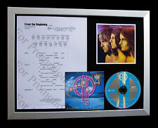 ELP+EMERSON+LAKE+PALMER Beginning QUALITY CD FRAMED DISPLAY+EXPRESS GLOBAL SHIP