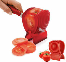 Kitchen Clip Tomato Fruit Cucumber Vegetable Salad Slicer Cutter  Potato Onions.
