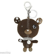 Swarovski 3D Arnold Brown Bag Charm, Teddy Bear Pendant Key Ring Crystal 5039235