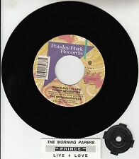 """PRINCE The Morning Papers 7"""" 45 rpm vinyl record + juke box title strip NEW"""