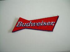 BUDWEISER 3 1/2'' EMBROIDERED OFFICIAL UNIFORM SHIRT PATCH