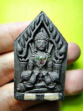 6886-THAI AMULET RAHU KHUN PAEN CHARMING MONEY RICH LUCKY RID DEBS LP KEY BLACK