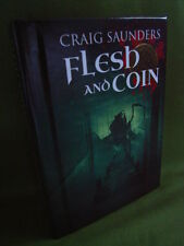 CRAIG SAUNDERS FLESH AND COIN SIGNED NUMBERED LIMITED EDITION HB 2015 NEW