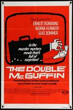 THE DOUBLE McGUFFIN - Saul Bass - original film / movie poster