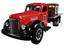 INTERNATIONAL KB-8 STAKE TRUCK WITH TARP LOAD NAPA 1/34 BY FIRST GEAR 19-2376