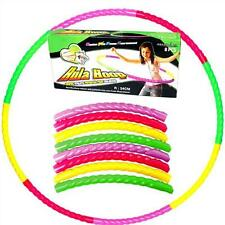 NEW PACK A HOOP CLIP TOGETHER PORTABLE TAKE ANYWHERE HULA HOOP PW
