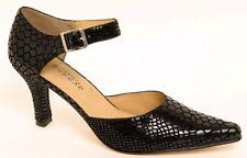 Aysana Natasha Dress Shoe Pump Black Cobra 38