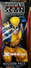 Hyper Scan X-Men Booster Pack 6 game cards-series black