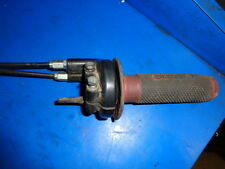 HONDA CRF 250 2004 THROTTLE ASSEMBLY WITH CABLES  GOOD USED SHAPE