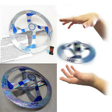 1Pcs Funny Paper Amazing Mystery UFO Floating Flying Disk Sauce Magic Cool Toys