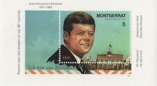 JFK 35th PRESIDENT OF THE USA NEW FRONTIER MONTSERRAT 1998 MNH STAMP SHEETLET