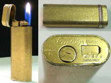 Briquet Ancien - CARTIER le MUST- French vintage gas Lighter Feuerzeug Accendino