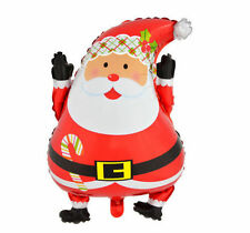 1PCS Christmas Santa Claus Kids Foil Helium Balloon Decoration Wedding Toy