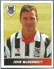 PANINI FOOTBALL LEAGUE 95 -#099-GRIMSBY TOWN-JOHN McDERMOTT