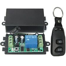 DC 12V 10A Relay 1CH Wireless RF Remote Control Switch Transmitter + Receiver