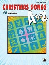 Christmas Songs A to Z: 64 Fun and Familiar Holiday Favorites (Piano/Vocal/Guita