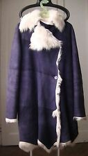 3.899 € *PLEIN SUD JEANS* Manteau Veste peau mouton Shearling Jacket Coat M - L