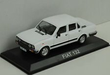 Fiat 132 white weiss 1:43 IXO / Ist - Bliester magazine Collection