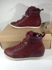 TIMBERLAND EARTHKEEPERS Womens Ballard Hiker Red Casual Shoes Size 7.5 W TM-102