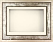 "BabyRice 11.5x8.5"" Urban Metal 3D Display Frame / 1 Hole Cream Mount"