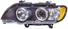 Bmw X5 (1998-2003) Black Halo AngelEye proyector Frente Faros Luces-Par
