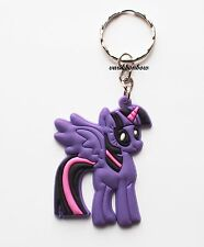 My Little Pony Twilight Sparkle Keyring Bagcharm Keychain Zip puller Rubber PVC