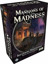 Mansions of Madness: Recurring Nightmares 2nd Edition [Board Game, Fantasy] NEW