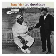 Lou Donaldson Here 'Tis CD NEW Blue Note Jazz Rudy Van Gelder Remastered Edition